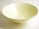 Yellow open bowl