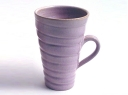 Purple tight spiral mug