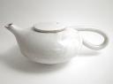 Cream teapot